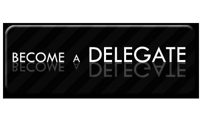 become a delegate